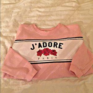 Forever 21 J'Adore Paris Sweatshirt
